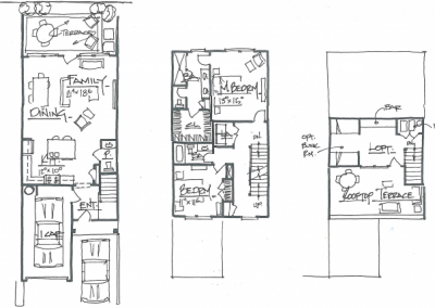 Two-Story Home Plan