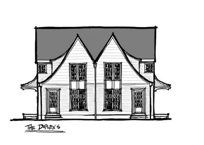 Two Story Townhome Elevation