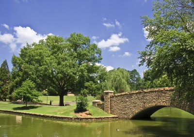 Freedom Park in the Summer at Charlotte